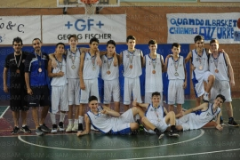 Vivibasket Napoli-Scafati final 4 mista under 15 2017-2018